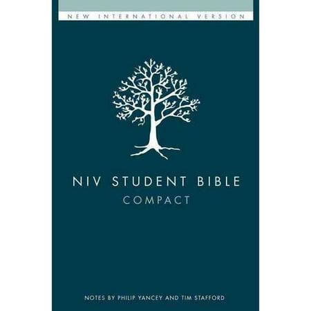 Niv Student Bible  New International Version  Compact