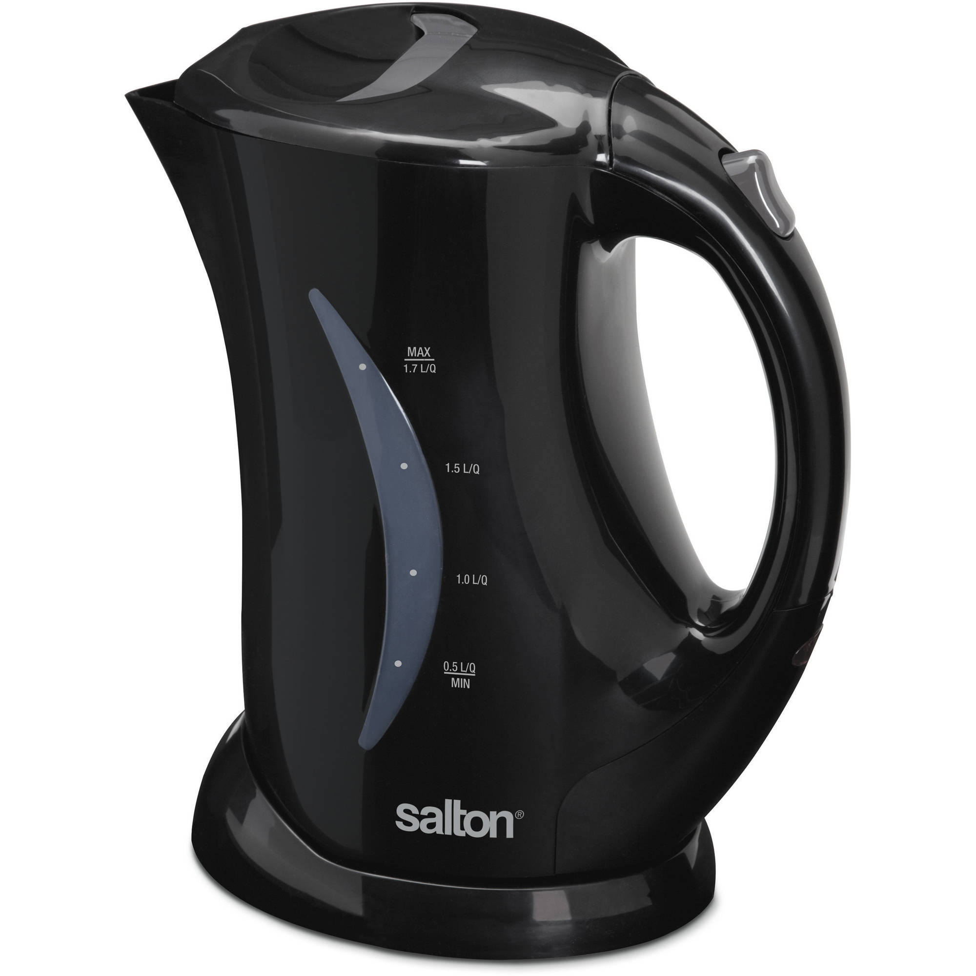 Salton Cordless Electric Jug Kettle, 1.7L, Red