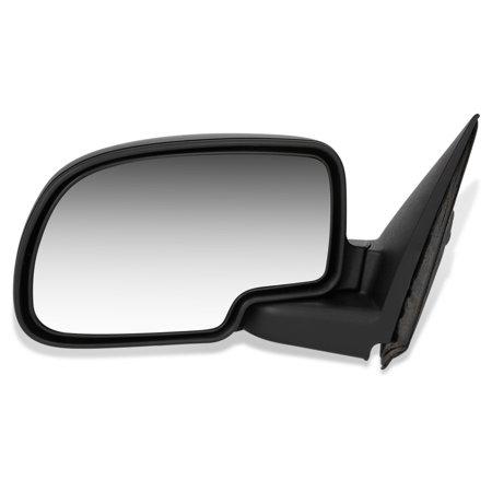 For 1999 to 2007 Chevy Silverado GMC Sierra 1500 2500 3500 Suburban Tahoe Yukon XL OE Style Manual Driver / Left Side View Door Mirror 00 01 02 03 04 05 06 2002 02 Gmc Yukon Mirror