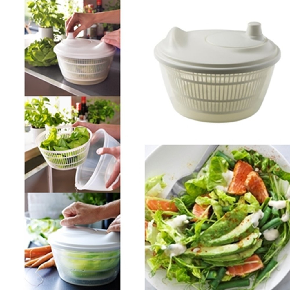 Sweden TOKIG Salad Spinner Lettuce Fruit Vegetable Dryer ...