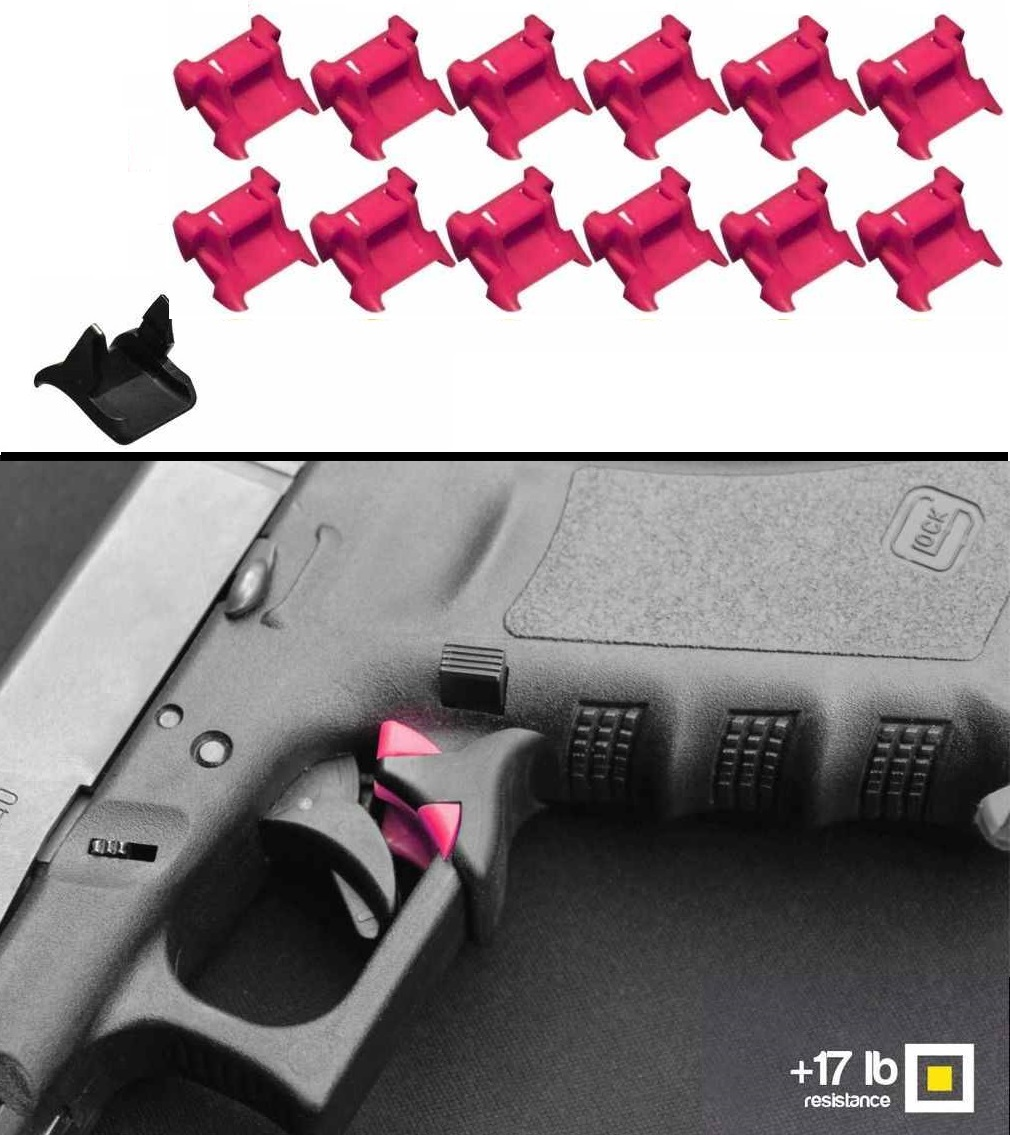 Safe-Draw Passive Trigger Pull Guard Safety Lock Kit Pistol Glock 17 18 19 20 21 22 23 24 25 26 27 29 30 31 32 33 34 35... by