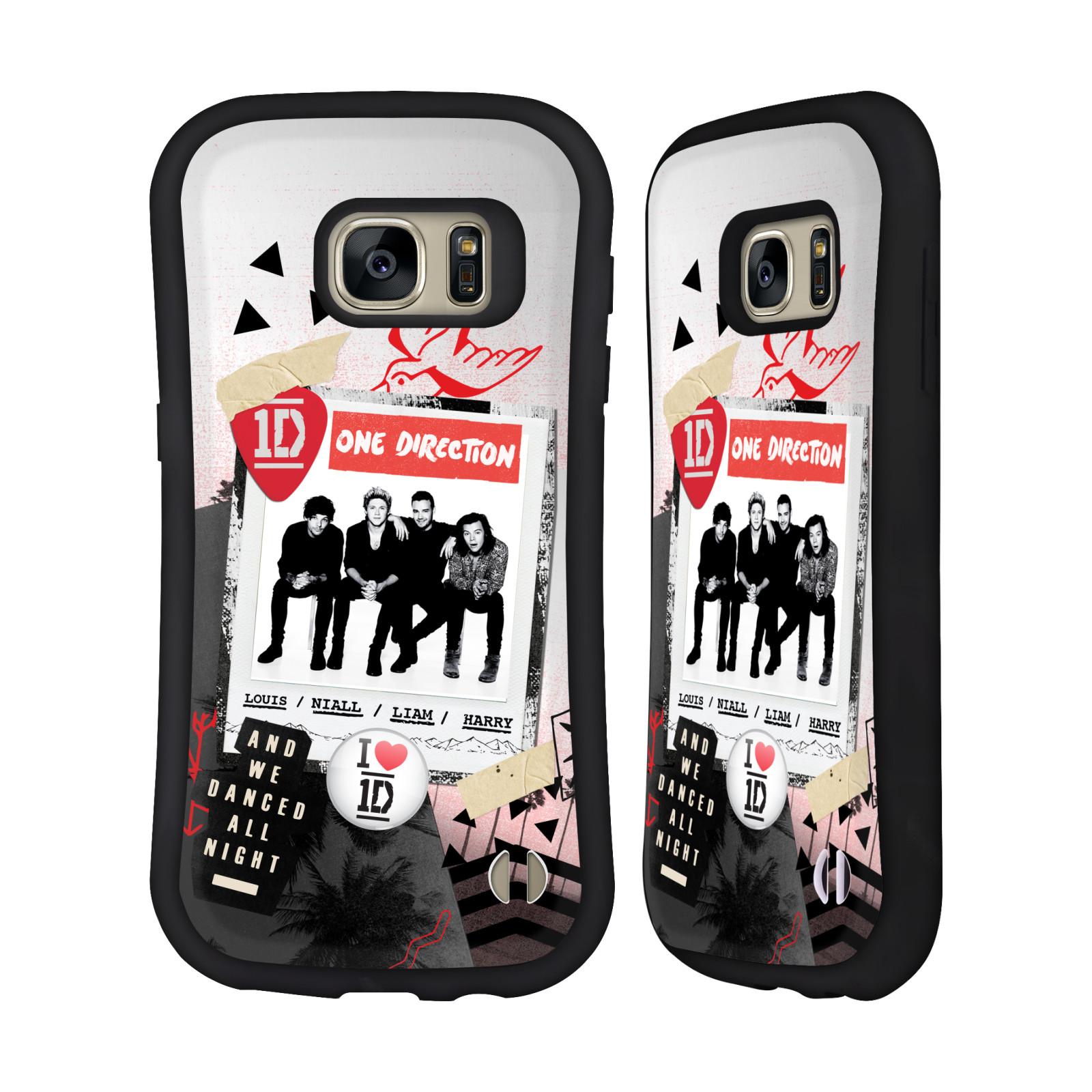 OFFICIAL ONE DIRECTION LOCKER ART GROUP HYBRID CASE FOR SAMSUNG PHONES