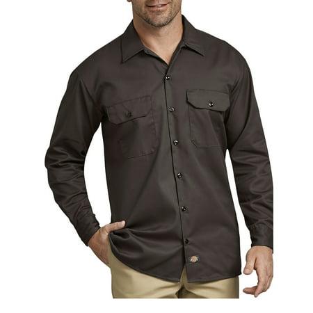 Shirt Sleeve Original Twill Dickies Men's Long Fit Work qanB0w