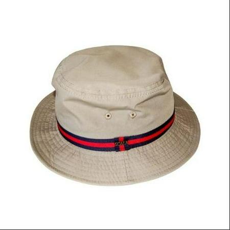 d1aeddee27c Scala Classico Rain Hat - Bucket Hat by Dorfman Pacific (British Tan XL) -  Walmart.com