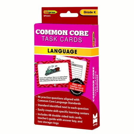 Numel Common Card - COMMON CORE TASK CARDS LANG GR K