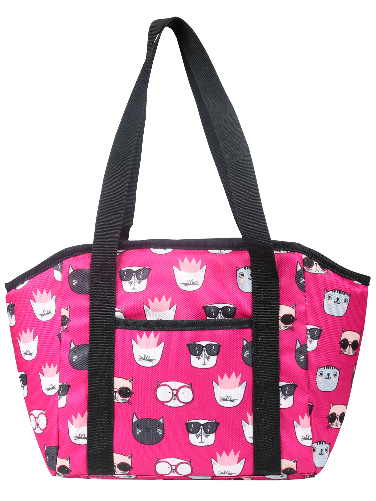 Mainstays Pink Cats Satchel Lunch Kit