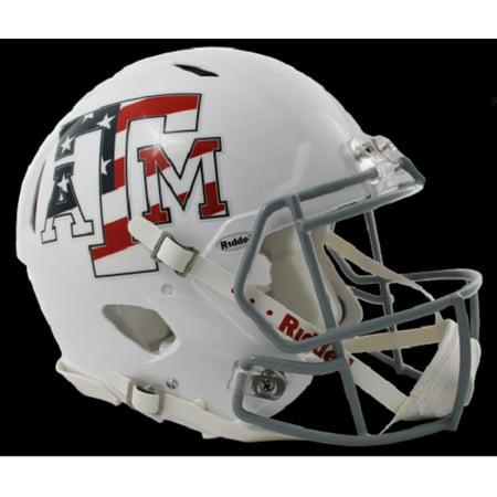 Texas A&M Aggies Revolution Speed Pro Line Helmet - Stars & Stripes