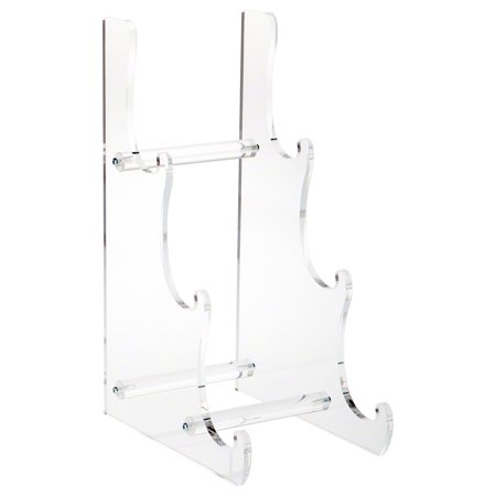 Plymor Brand Clear Acrylic 3-Tier Display Easel