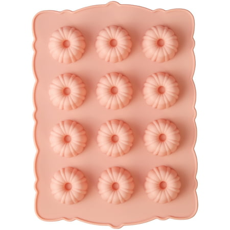 Wilton Mini Fluted Silicone Mold, (Fluted Boat Mold)