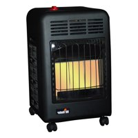 Mr. Heater 18000 BTU 450 Sq. Ft. Radiant Propane Cabinet Outdoor Space Heater