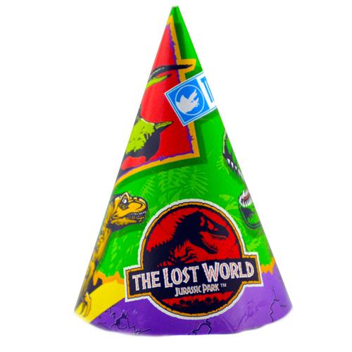 Jurassic Park 'Lost World' Cone Hats (8ct)