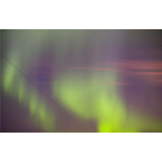 Twilight with Northern Lights Poster Print by Carson Ganci, 34 x 22 - Large - image 1 de 1