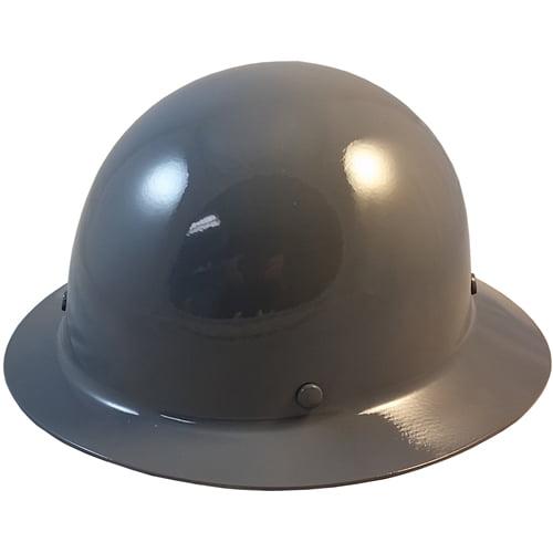 MSA Skullgard Full Brim Hard Hat with STAZ ON Suspension - Gray