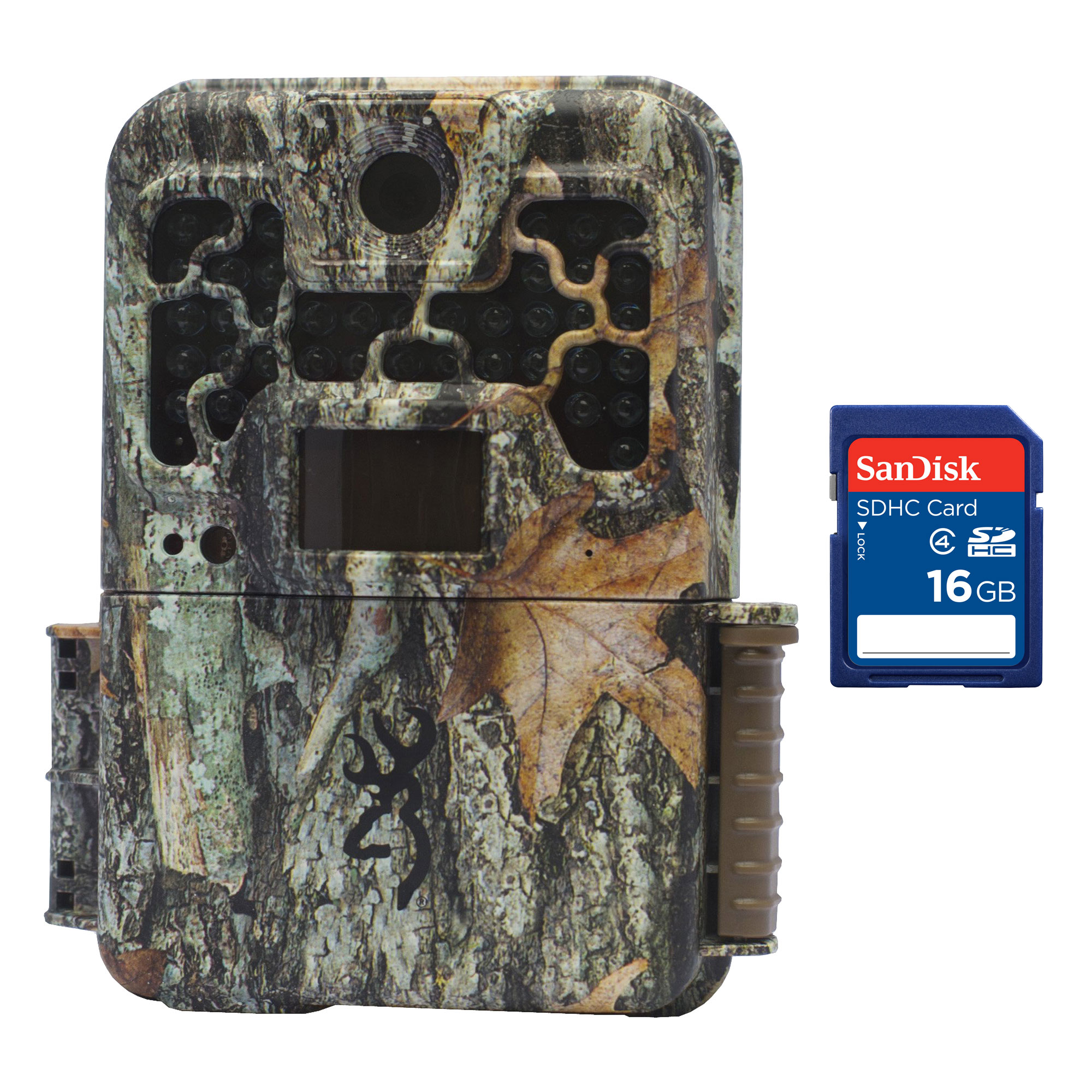 Browning Trail Cameras Recon Force FHD Extreme 20MP Game Camera + 16GB SD Card by Browning Trail Cameras