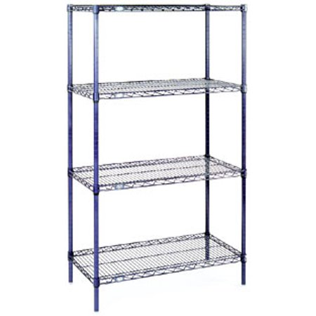 Nexel Starter Shelving Unit wire  24W 4 24426C