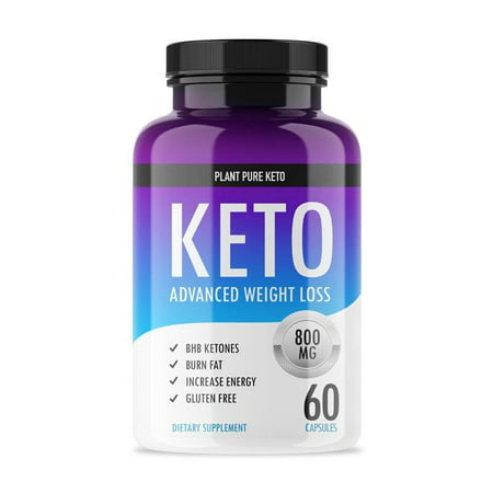 Apex Fat Burn (Plant Pure Keto - Ketogenic Fat Burner for Advanced Weight Loss Support - Burn Fat for Fuel Instead of Carbs - Ketosis Supplement with Nootropic Benefits - 60 Capsules)