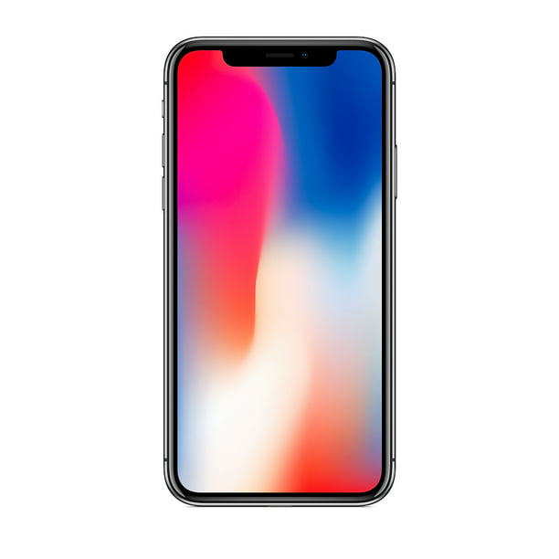 Apple Iphone X 64gb Space Gray Fully Unlocked Verizon At T T Mobile Smartphone B Grade Refurbished Walmart Com Walmart Com