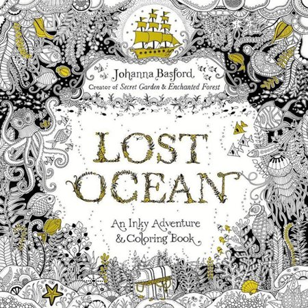 Penguin Putnam Inc. Lost Ocean: An Inky Adventure and Coloring Book Johanna Basford