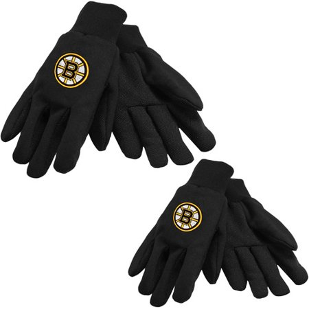 NHL Sport Utility Gloves Boston Bruins Black Team Work Utility Gloves (Boston Bruin)