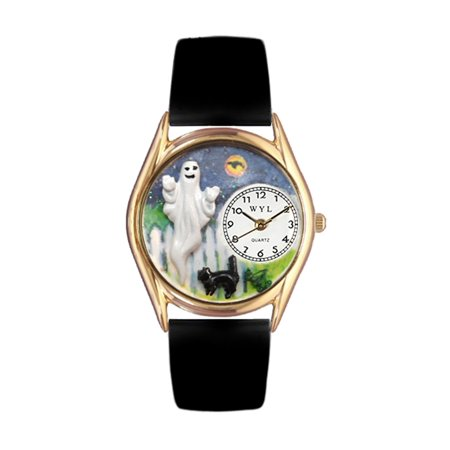 Halloween Ghost Watch Small Gold (Arnold's Halloween Watch Online)