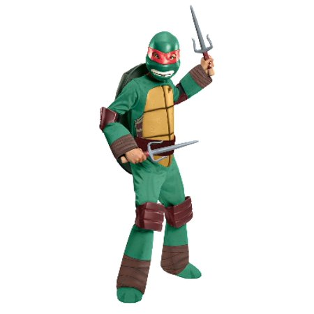Teenage Mutant Ninja Turtles Toddler & Boys Raphael Costume with TMNT (50's To 80's Costumes)