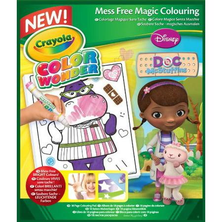Crayola Color Wonder Coloring Pad, Doc Mcstuffins for $<!---->