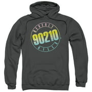 90210 Beverly Hills Cw TV Series Color Blend Logo Adult Pull-Over Hoodie