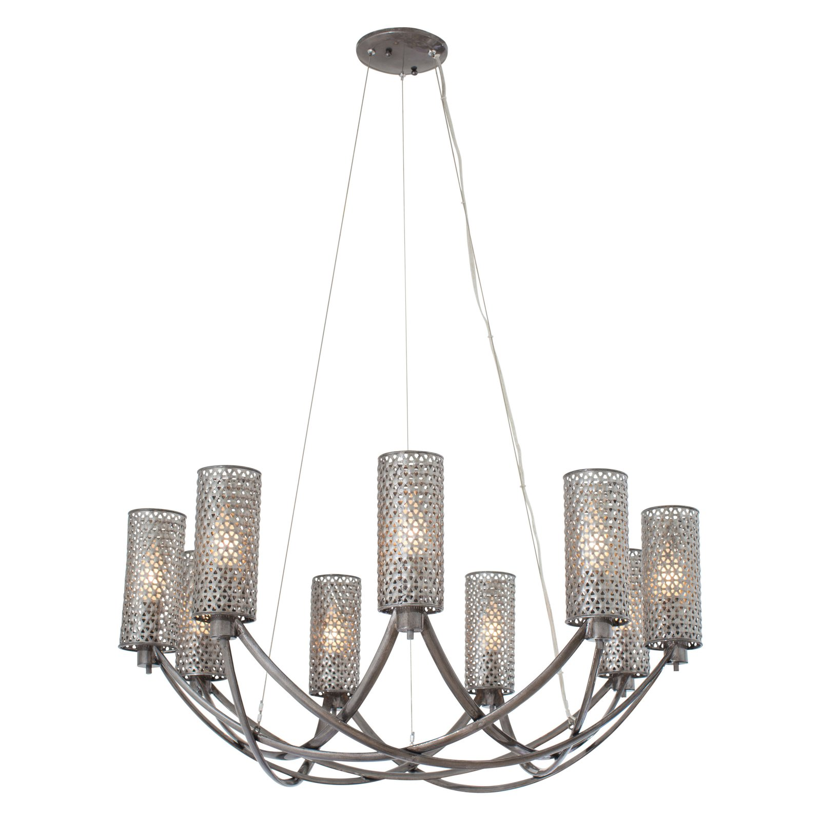 Varaluz Casablanca 244C09SL 9-Light Chandelier