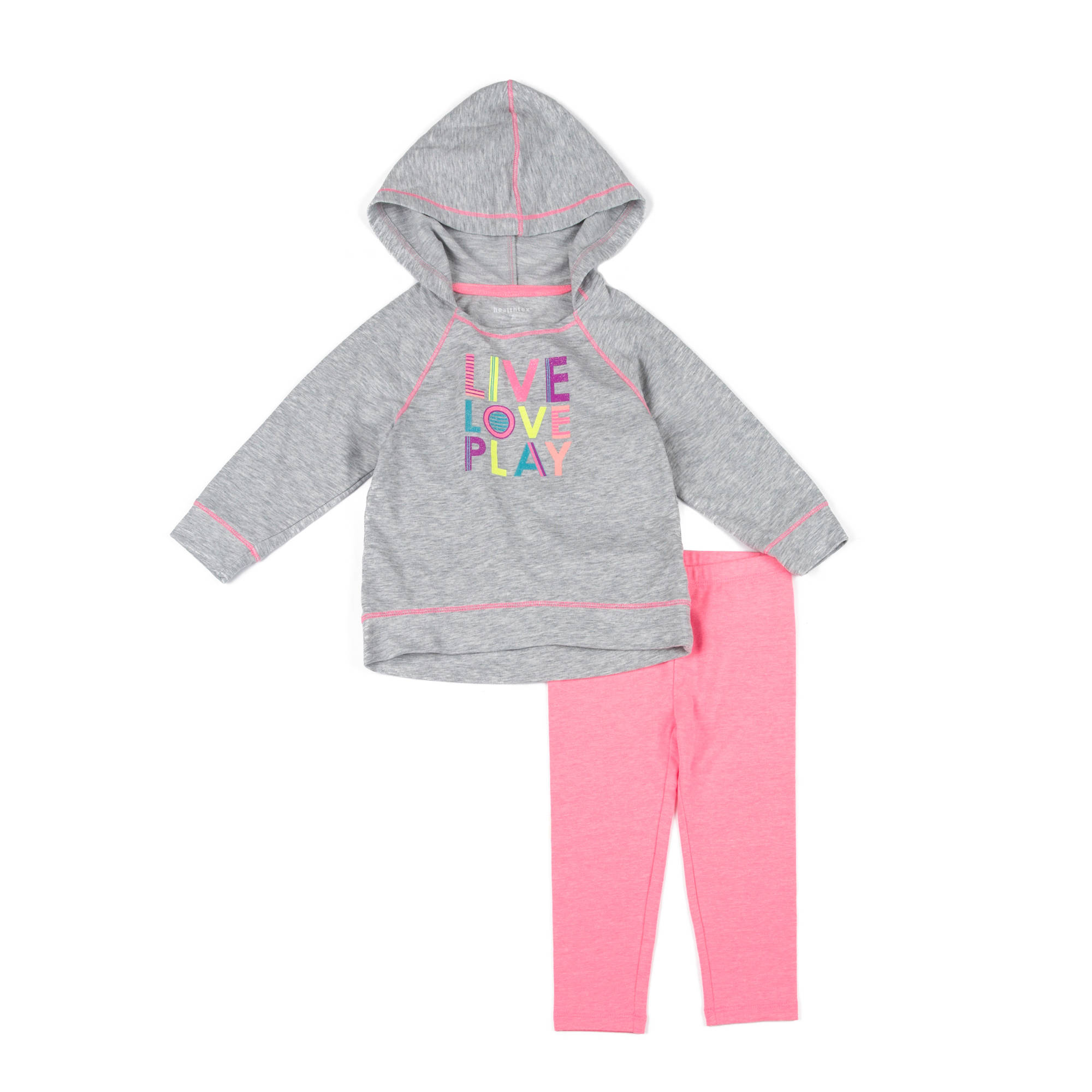 Healthtex Baby Toddler Girl Activewear 2-piece Set