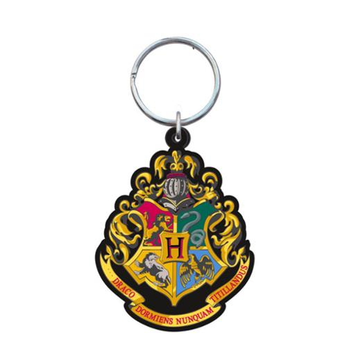 Harry Potter PVC Soft Touch Key Ring: Hogwarts School Crest