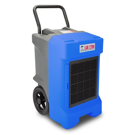 B Air Vg 2200 Lgr Blue Etl 400 Cfm 130 Ppd Aham Vantage Commercial Dehumidifier  Blue