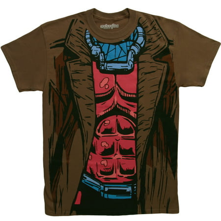 X-Men I Am Gambit Costume T-Shirt - X Man Costume