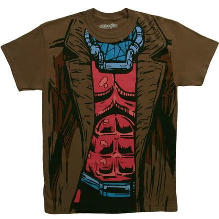 X-men T-shirt Tee - X-Men I Am Gambit Costume T-Shirt