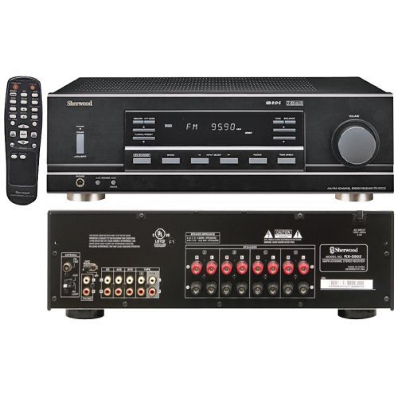 Sherwood Rx-5502 Multisource Dual Zone A V Receiver by Sherwood