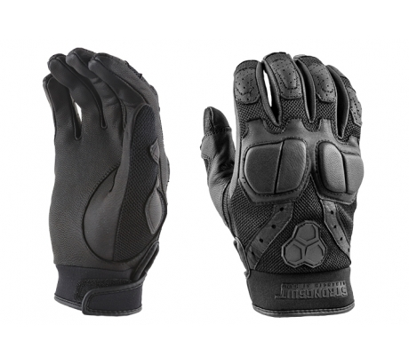 StrongSuit SWAT Glove XL, Leather Palm, Black