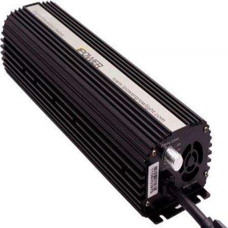 iPower GLBLST600D Digital Dimmable Ballast for Grow Light, 600-watt, CE certified and UL listed, HPS and MH lamp supported, convertible with micro-chip programming, Short Circuit Protected, Fast Lamp ()