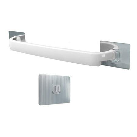Punch-Free Bathroom Towel Rack Bathroom Towel Bar Wall-Mounted Rack - image 1 of 8