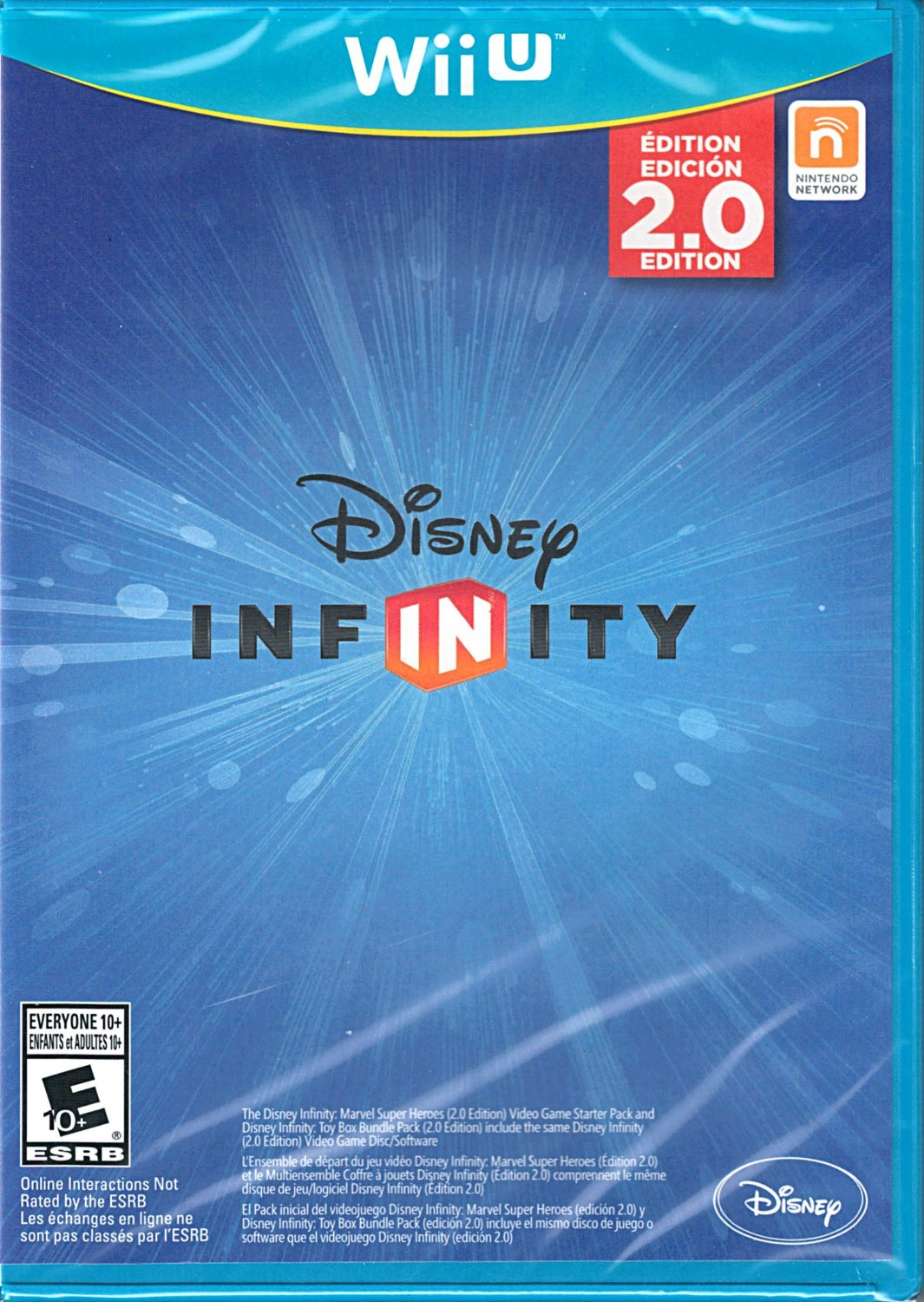 Disney Infinity 2.0 Marvel Super Heroes Wii U Replacement Game Only No Base or Figures Included by Disney Interactive
