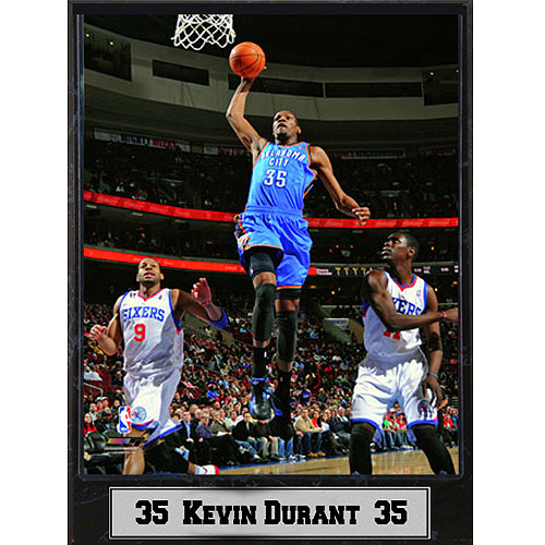 NBA Kevin Durant Photo Plaque, 9x12