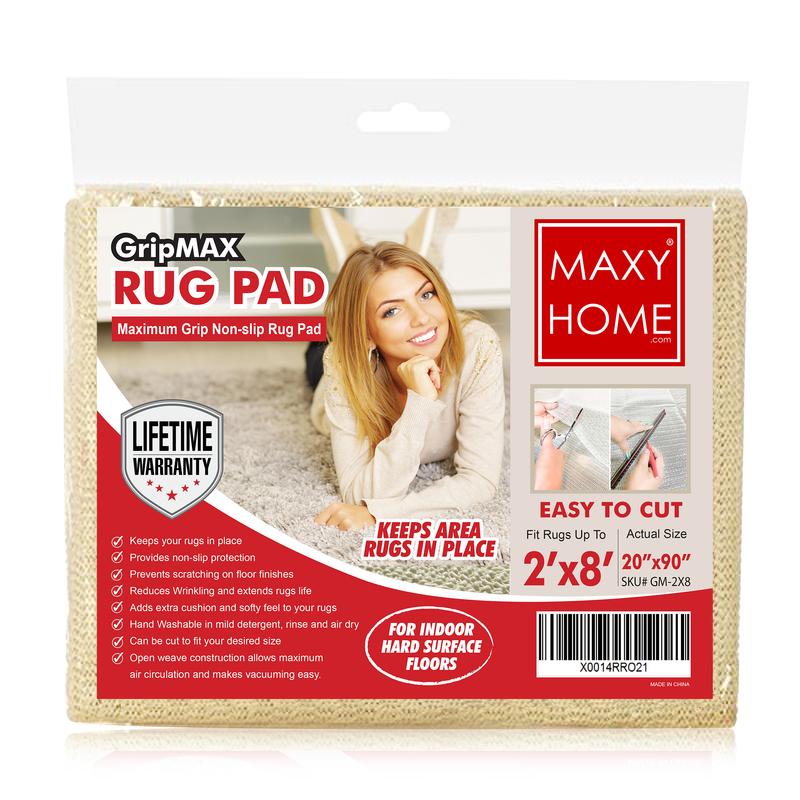 Maxy Home Gripmax GM-2X8 Rug Pad Non-Slip Gripper