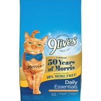 9Lives Daily Essentials Dry Cat Food, 3.47-Pound Bag