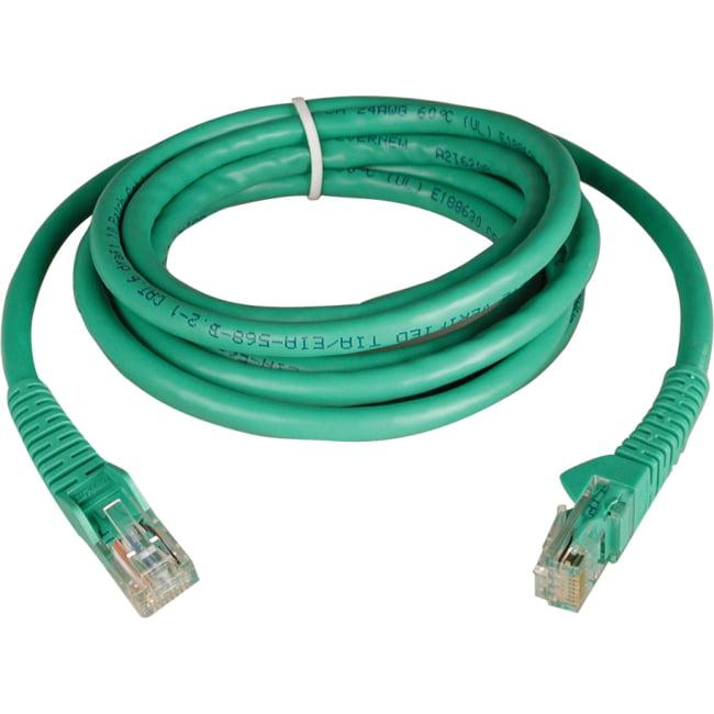 Tripp Lite 5ft Cat6 Gigabit Snagless Molded Patch Cable (RJ45 M/M) - Green