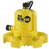 WAYNE WWB WaterBUG Submersible Pump with Multi-Flo Technology