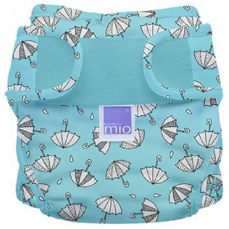 Multi Stripe Diaper Cover (Miosoft Diaper Cover, Rainy Days, Size 1 <21Lbs)