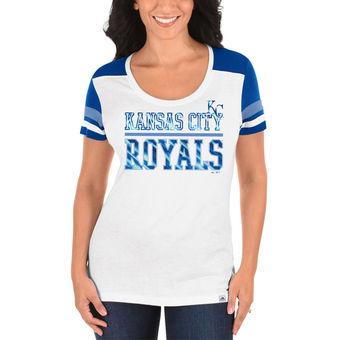 "Kansas City Royals  Womens ""Overwhelming Victory""  Short Sleeve Shirt"
