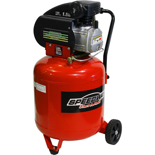 Speedway 15-Gallon 125 PSI Air Compressor