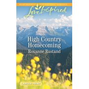 Rocky Mountain Ranch: High Country Homecoming (Paperback)(Large Print)