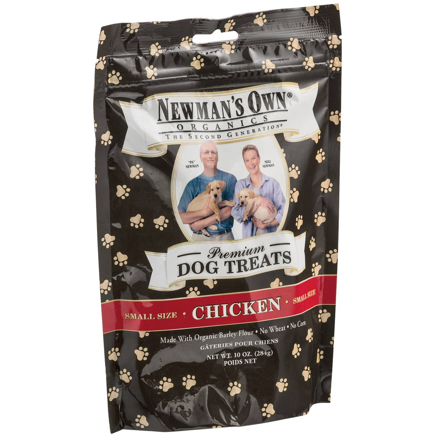 Newman's Own Dog Treats, Premium, Chicken, Small Size, 10 oz, 6-Pack
