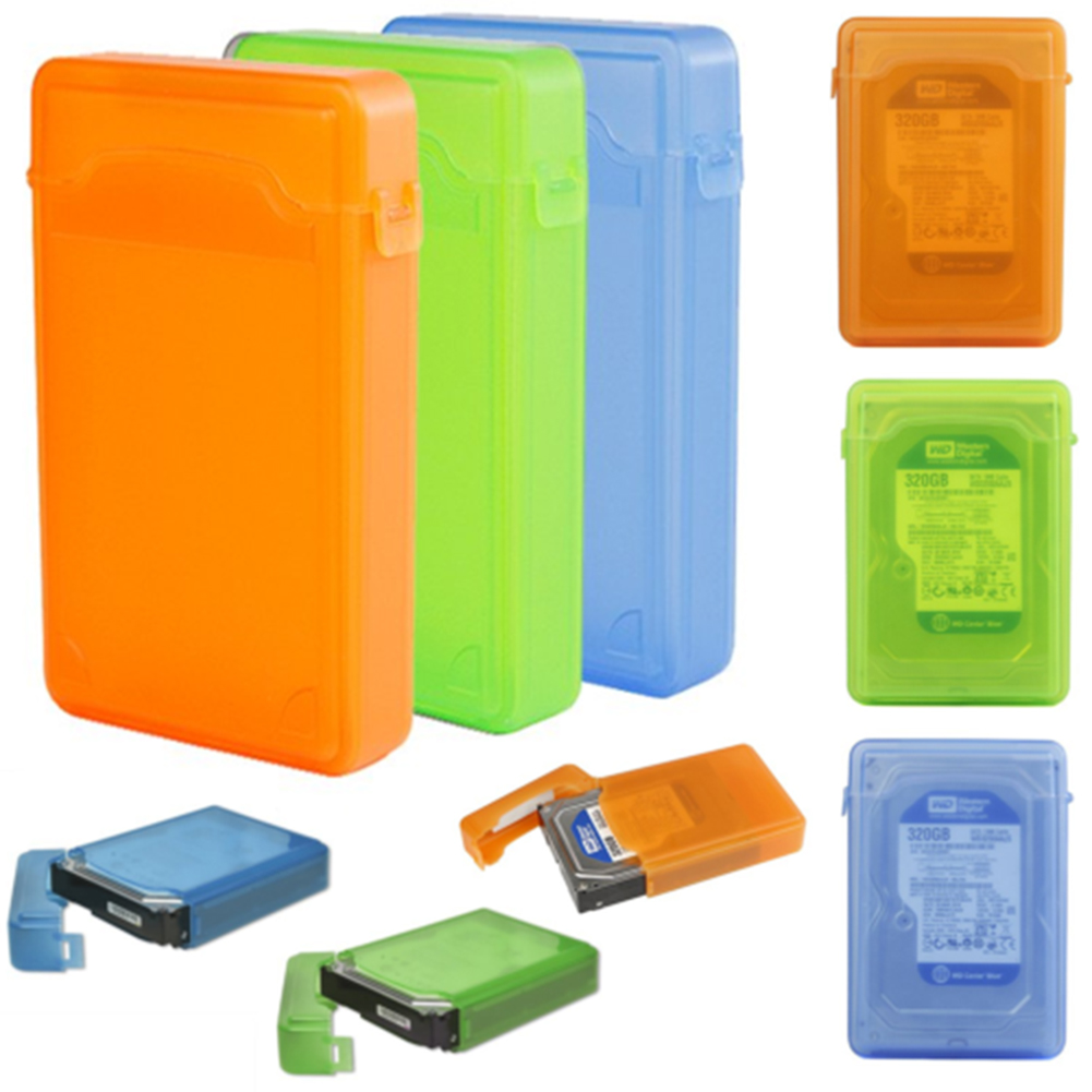 Heepo 3.5 Inch Dustproof Protection Box for SATA IDE HDD Hard Disk Drive Storage Case