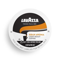 Lavazza Gran Aroma Single-Serve Coffee K-Cup Pods for Keurig Brewer, Light Roast, 10 Count